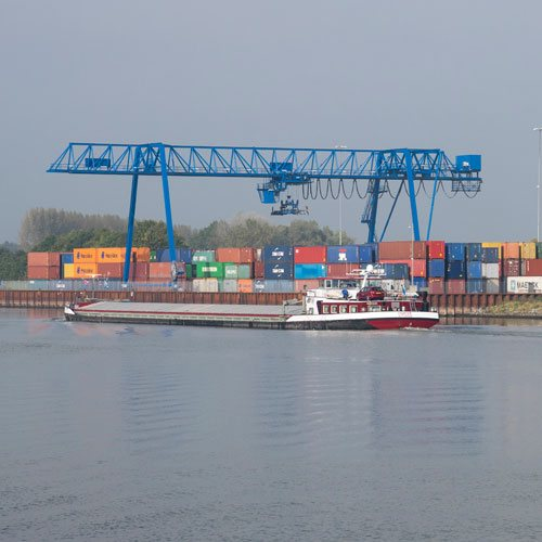 Bedrijvenpark Medel containerterminal