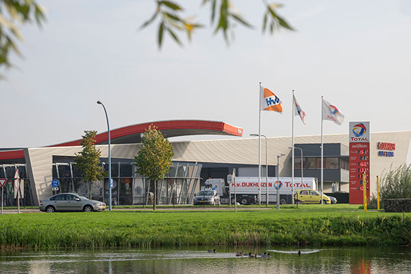 Bedrijvenpark Medel tankstation