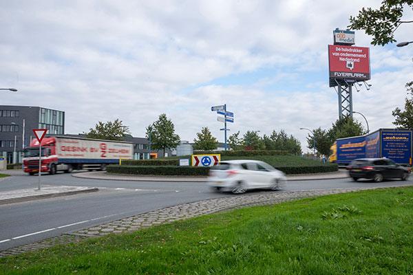 Bedrijvenpark Medel geschikt voor zwaar transport