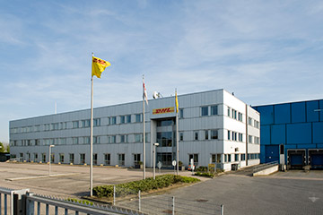 Business Park Medel – Location DHL